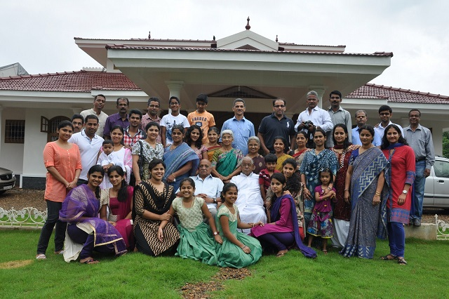 Group 1 Mannanal Family and its Spirit of Celebrations