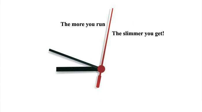 more you run slimmer you get2 Running a Marathon and Running a Business