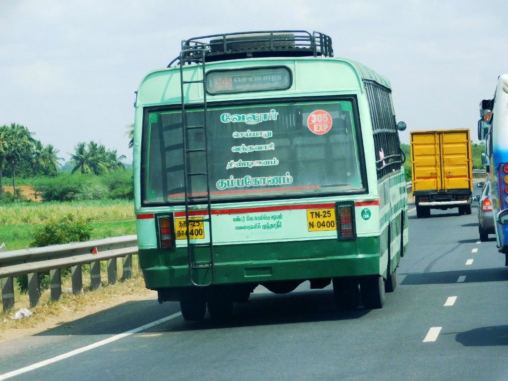 Chennai bus 1 1024x768 On the Drivers Seat